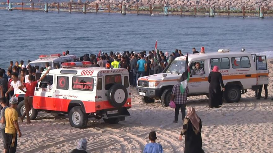 Las marchas marítimas continúan en la Franja de Gaza