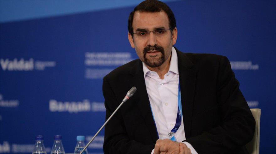 El embajador iraní en Rusia, Mehdi Sanai.