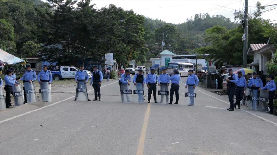 Cierran fronteras en Honduras para evitar fuga de ciudadanos