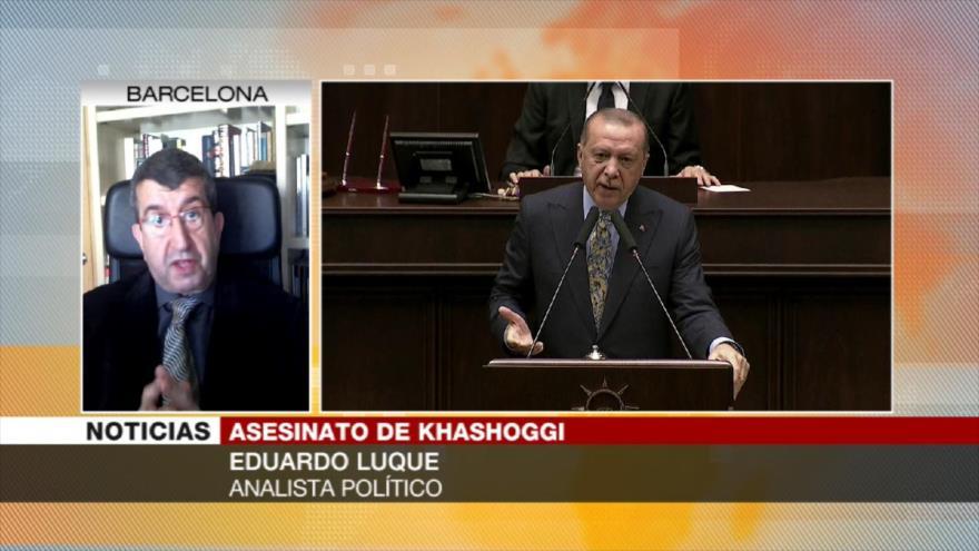 Luque: Erdogan pactará con Riad sobre Khashoggi a cambio de dinero