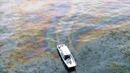 Alertan sobre el peor desastre petrolero en aguas de EEUU