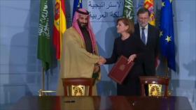 España rechaza suspender venta de armas a Arabia Saudí