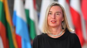 """Mogherini pide respuesta """"racional"""" y unida a caso de Khashoggi"""