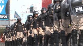 Comando Sur impone militarización interna de Argentina