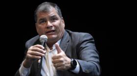 Rafael Correa critica a EEUU por creerse el dueño del universo