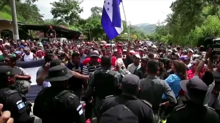 El difícil camino de los inmigrantes en México