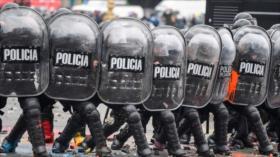 Represión en Argentina para tratar el presupuesto 2019