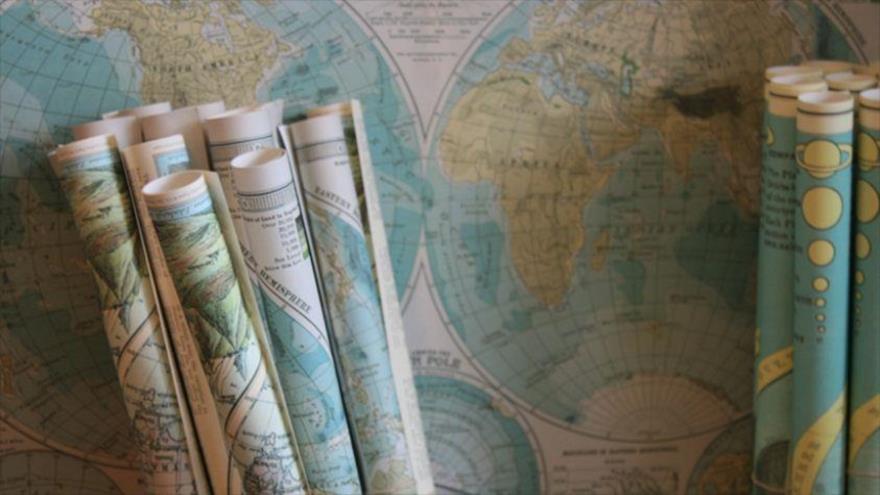 Un mapamundi.