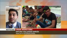 García: Migrantes, producto de sistema económico empujado por EEUU