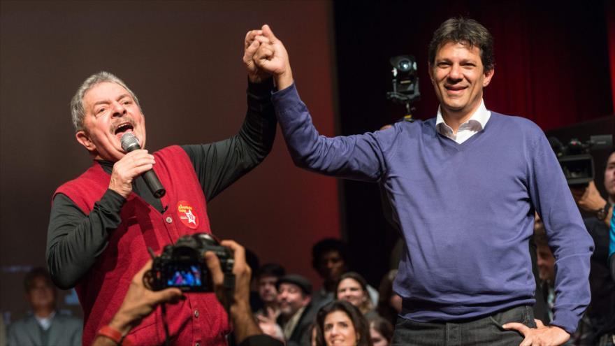Lula alerta que Brasil está a las puertas de una 'aventura fascista'