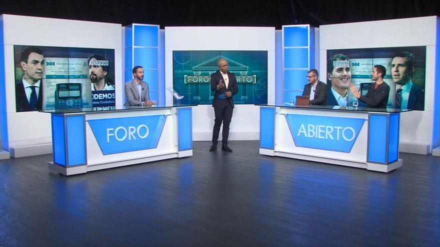 Foro Abierto; España: presupuestos 2019, la mediación de Pablo Iglesias