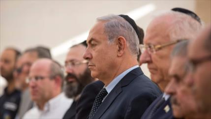 Netanyahu denuncia 'complot' contra él del presidente israelí