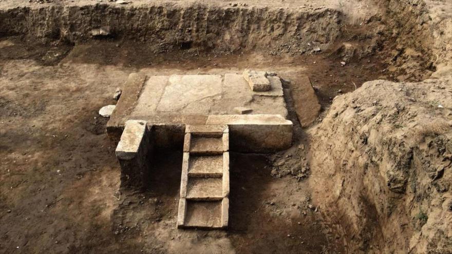 Arqueólogos descubren cabina de faraón Ramses II en Egipto | HISPANTV