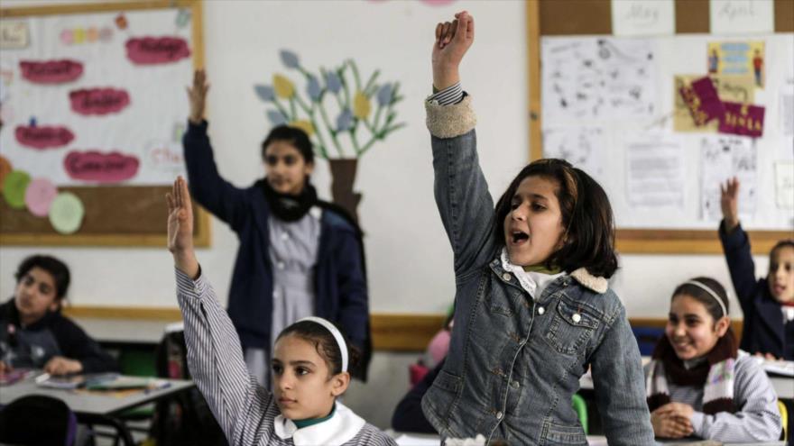 Palestina acusa a Israel de distorsionar currículum escolar en Al-Quds