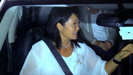 En Perú, suspenso por prisión de Keiko Fujimori divide su partido