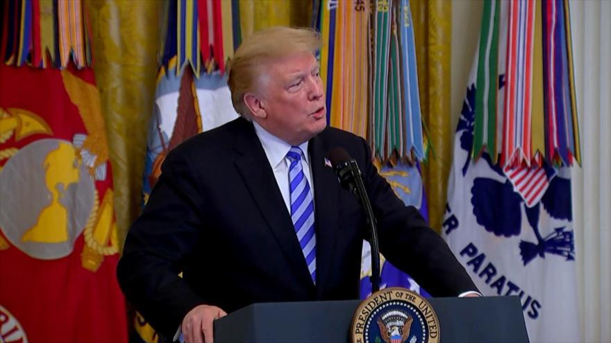 Donald Trump amenaza a Irán con más sanciones
