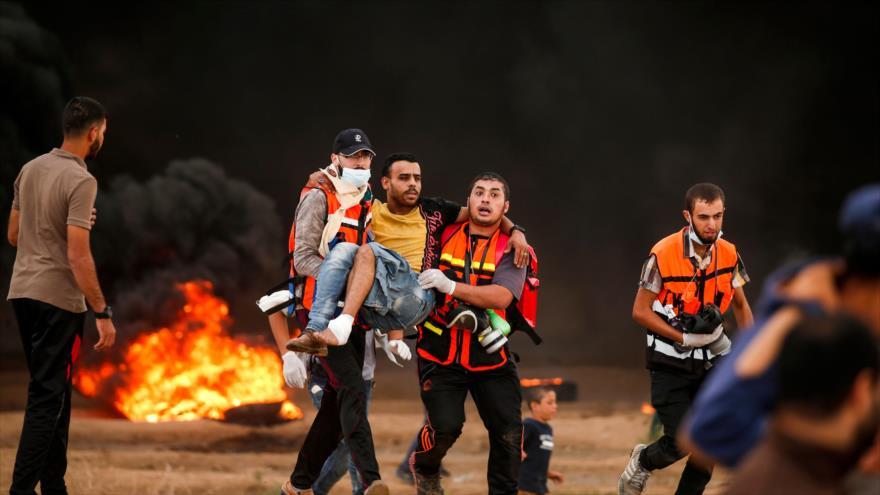 Disparos israelíes dejan 5 muertos y 85 heridos en la Franja de Gaza