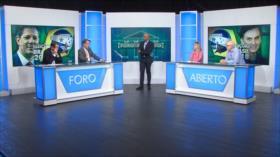 Foro Abierto; Brasil: la disyuntiva Bolsonaro-Haddad