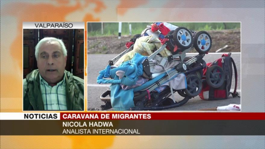 Hadwa: EEUU planea separar las familias de caravana de migrantes