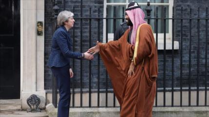Activista: Londres es cómplice de horripilantes crímenes de Riad