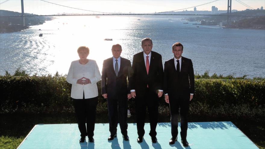 Cumbre sobre Siria pide formación del Comité Constitucional sirio