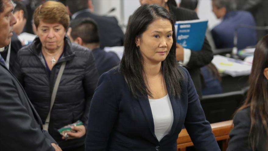 Caso Odebrecht complica libertad de Keiko Fujimori en Perú