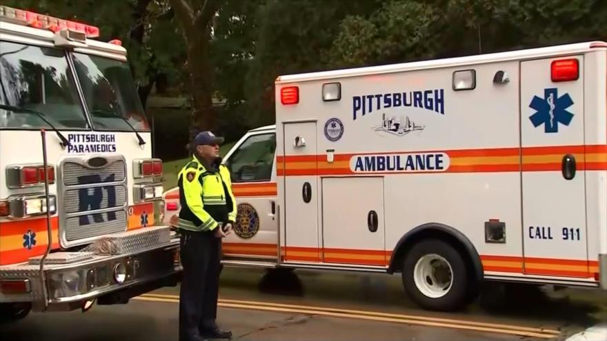 Un tiroteo en una sinagoga en EEUU deja 11 muertos