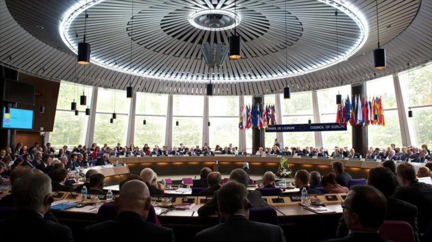 Una sesión del Tribunal Europeo de Derechos Humanos (TEDH) en Estrasburgo, Francia.