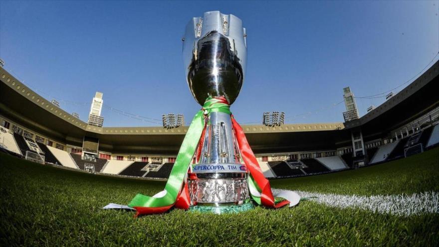 La Supercopa de fútbol de Italia.