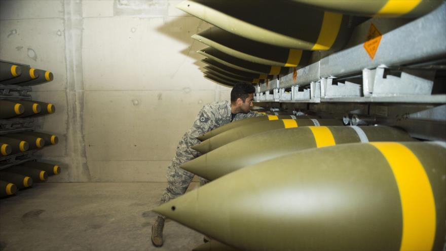 EEUU envía a Alemania el mayor cargamento de municiones en 20 años