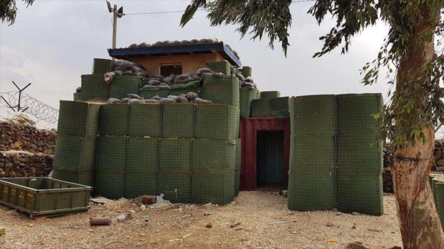 Fotos: Rusia halla taller de bombas de Daesh en puesto de ONU en Golán