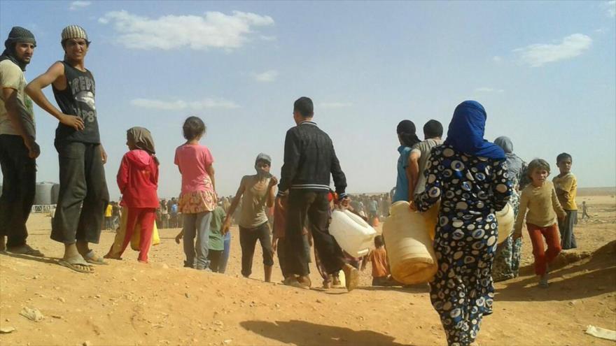 Rusia: EEUU interrumpe envío de ayuda humanitaria a campo sirio