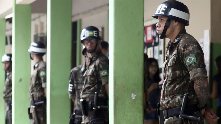 35 detenidos y 1950 urnas sustituidas en 2.ª vuelta electoral en Brasil