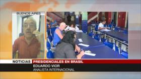 Vior: Un gobierno de Bolsonarova a generar mucho caos en Brasil