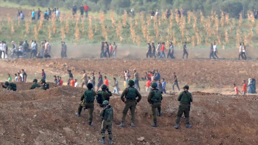 Fuerzas israelíes abren fuego contra agricultores en la Franja de Gaza
