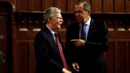 Rusia denuncia posible salida 'sin transparencia' de EEUU de INF