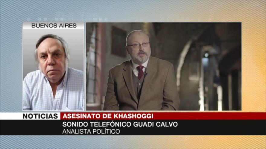 Calvo: Asesinato de Khashoggi pudo ser una venganza de Bin Salman