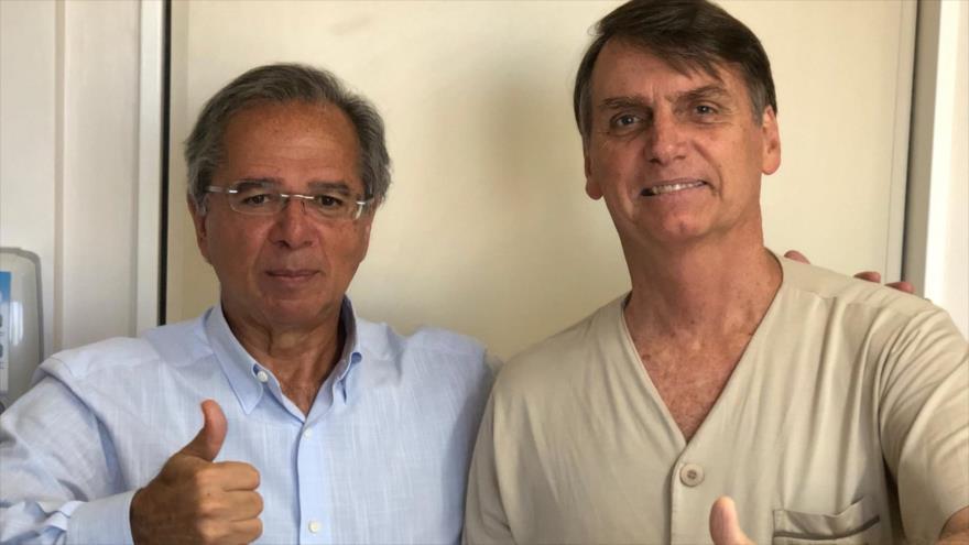 Brasil de Bolsonaro enterrará 'modelo económico socialdemócrata' de Lula