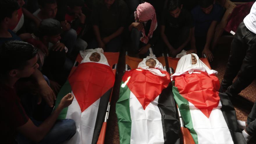 Palestina llama a CIP a no quedarse parada ante crímenes de Israel