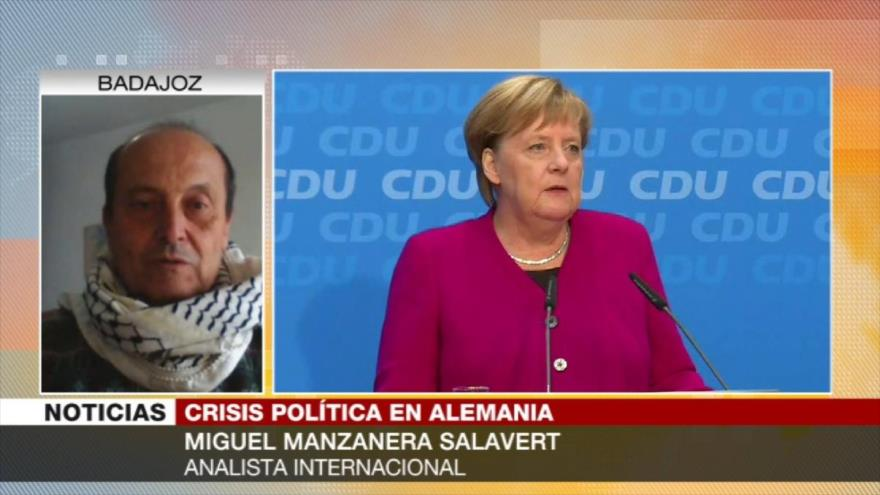 Manzanera Salavert: Retirada de Merkel de política es lógica y peligrosa