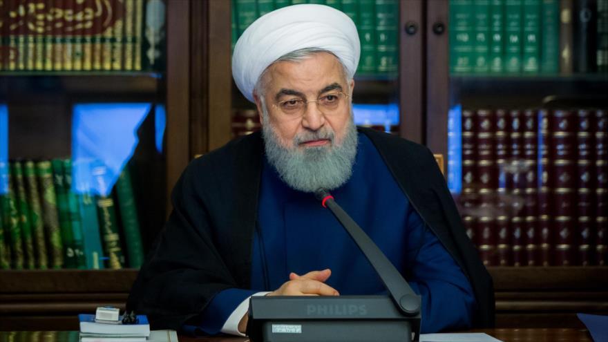 El presidente iraní, Hasan Rohani, en una reunión del Consejo Supremo de la Revolución Cultural, Teherán, 23 de octubre de 2018. (Foto: president.ir)