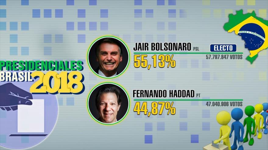 Brasil dividido por el resultado de elecciones presidenciales