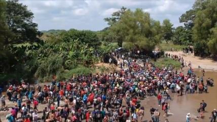 Muere otro hondureño en nueva caravana de migrantes