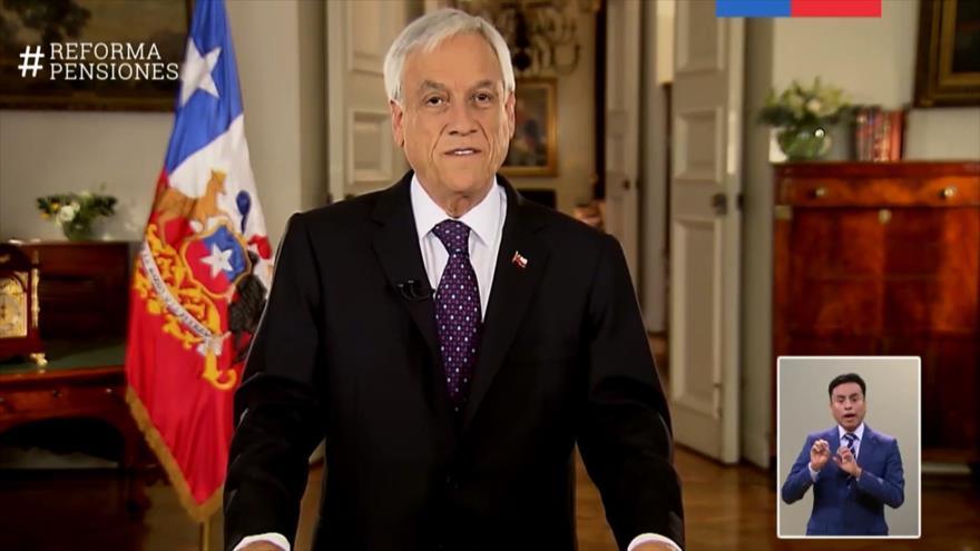 Gobierno chileno intenta reforzar sistema privado de pensiones