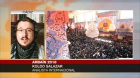 Salazar: Imam Husein (P) enseña cómo luchar contra imperialismo