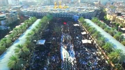 Millones de musulmanes participan en ceremonia de Arbaín
