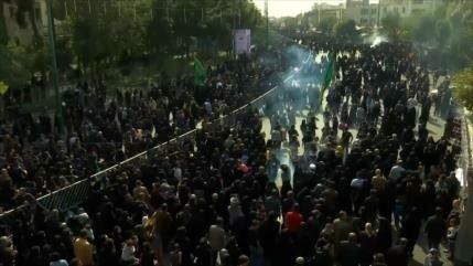Millones de iraníes rememoran el Día de Arbaín