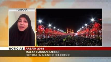 Hassan Zahoudi: Arbaín demuestra que la verdad siempre triunfa