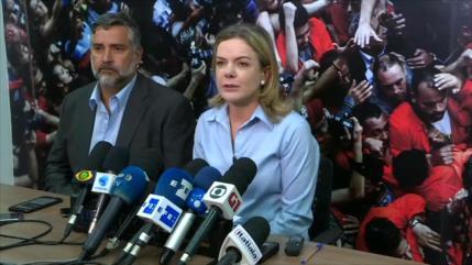 PT: La victoria de Bolsonaro fue parte de un golpe de Estado