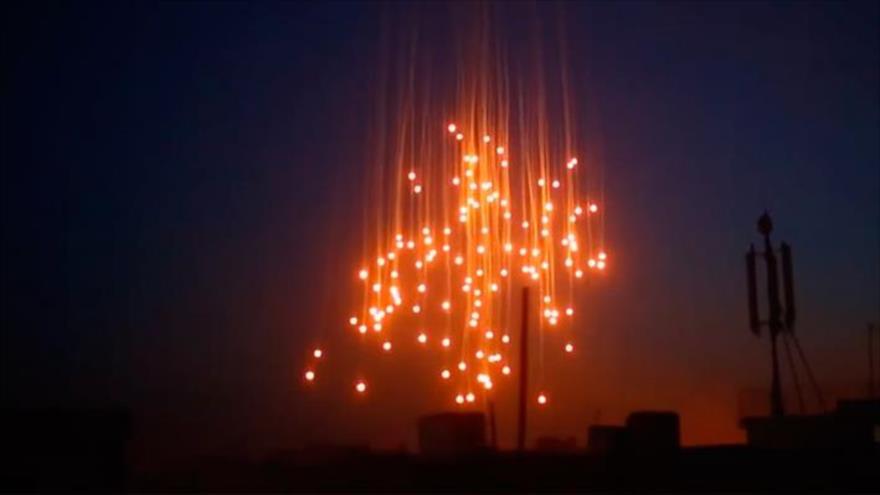 Siria denuncia el uso continuado de fósforo blanco por EEUU